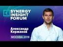 Александр Кержаков Как достигать высоких результатов SIF2018 Университет СИНЕРГИЯ