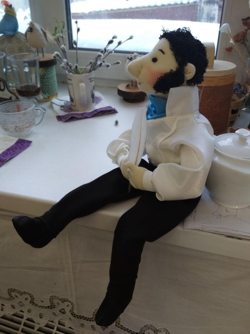 Саша Пушкин.Коллекционная кукла.
