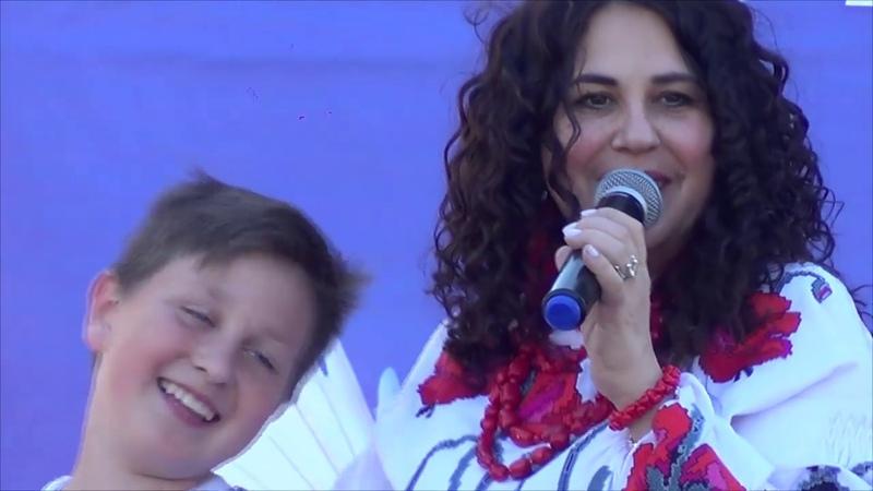 Анжеліка Рудницька в Білокуракине 18 05 2019