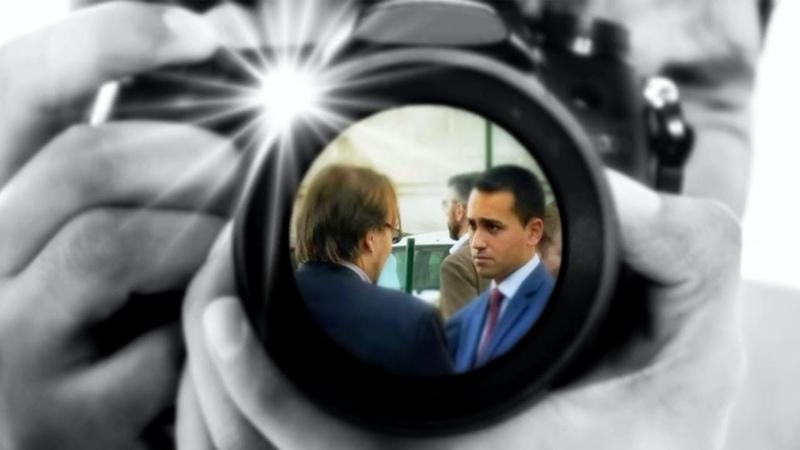 Il 10 maggio 2016 l'avv. Marco Mori incontra Luigi Di Maio...