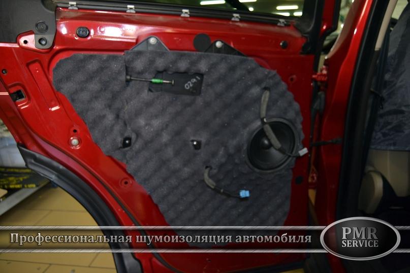 Комплексная шумоизоляция Land Rover Evoque, изображение №19