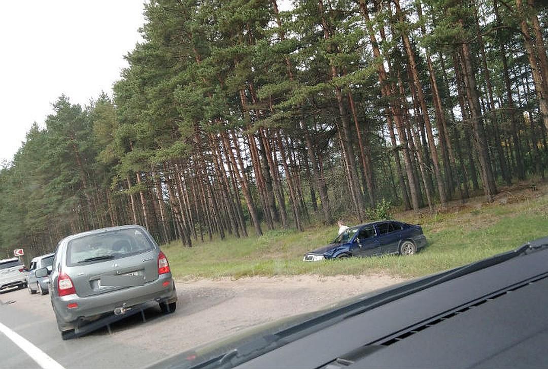 Пять машин столкнулись на трассе Ярославль-Кострома