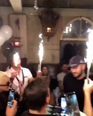 "LGR { fan account } on Instagram: ""New video of @ladygaga at @wanaynay's birthday party last night."""