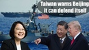 Pentagon sends two US warships through Taiwan Strait, risking fury from Beijing as tensions remain h