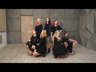 [teaser] clc (씨엘씨) - black dress | dance cover by eiwend