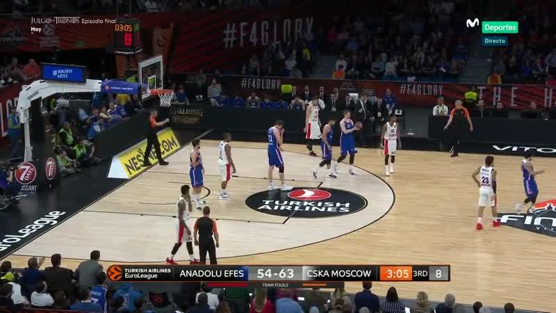 Anadolu Efes CSKA Moskva 19 05 19 FINAL EUROLIGA