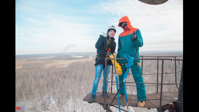Vladimir A. прыжок FreeFallProX команда ProX74 объект AT53 Chelyabinsk 2019 1 jump RopeJumping