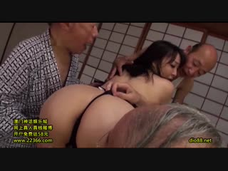 Arisa Hanyu - A Pregnancy Fetish Gang Bang With An Unequaled Old Person A Big Tits Bride IV
