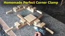 Homemade Perfect Corner Clamp Jaw Right Angle 90 Degree - Woodworking DIY at Home