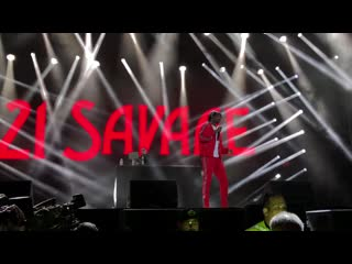 21 Savage - X & Bank Account (Dreamville Festival 2019 - Raleigh, NC - 4/6/19)