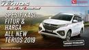 Spesifikasi, Fitur Harga Daihatsu Terios 2019