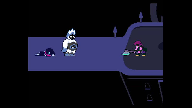 Deltarune Pacifist end