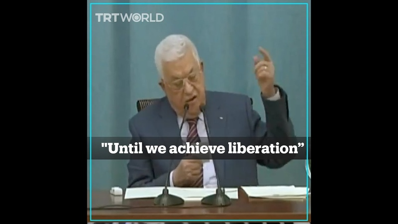 Palestine's Abbas vows resistance against Israel strikes