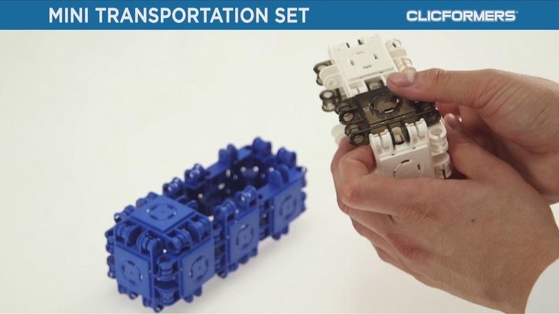 Конструктор CLICFORMERS mini Transportation set 30 pcs