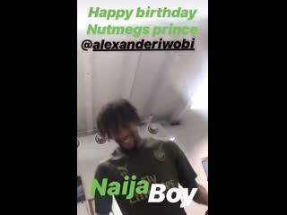 Oh my prince, ohhh my prince! naija boy, happy birthday bro! - -