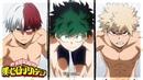 My hero academia Season 3: Midoriya, Todoroki Bakugou Swimming Contest [English Sub]
