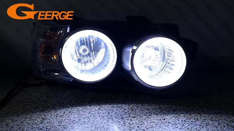 For Chevrolet AVEO Sonic T300 2011 2012 2013 2014 Excellent Ultra bright illumination COB led angel eyes kit halo rings