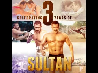 Celebrating 3yearofsultan @beingsalmankhan @anushkasharma @aliabbaszafar watch the film here @itunes