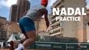 Rafael Nadal Practice Before Match vs Fognini Monte Carlo 2019
