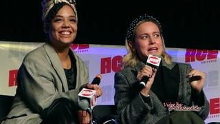 2019 Ace Comic Con - Brie Larson & Tessa Thompson