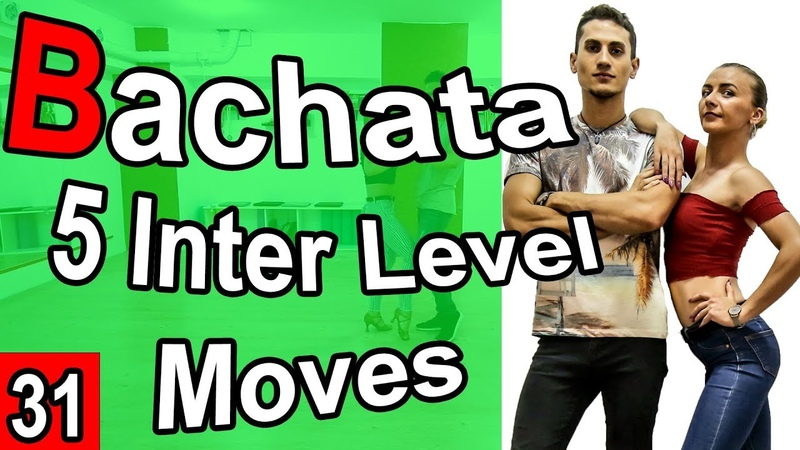 Bachata Tutorial 31 5 Intermediate Moves| MariusElenaBachata (2019)