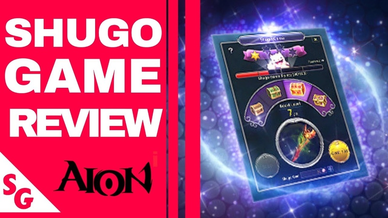 AION 6.5 - SHUGO GAME REVIEW - Lets Talk About Quality Quantity
