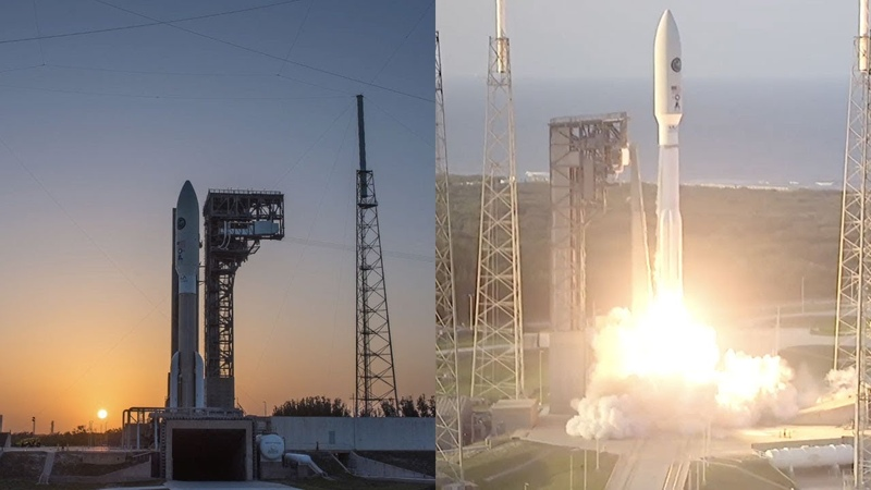 Atlas V 551 launches AFSPC-11 (CBAS EAGLE)