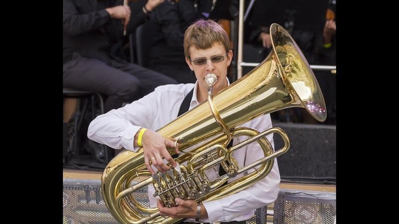 Баев Евг. Концерт для Тубы (1 часть)Concerto for tuba (I part)