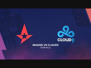 Highlights: magisk vs cloud9 | blast pro series: lisbon 2018