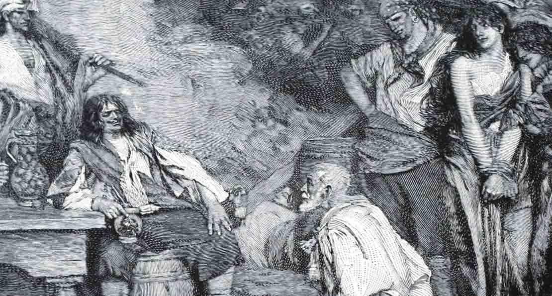 Морган и пленники