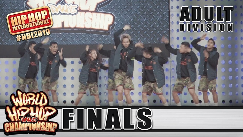 A-Team - Philippines (Adult Division) at HHI 2019 World Finals/