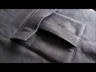 How to sew a POCKET. Trouser pocket .Sewing course. Jak uszy kiesze bojwk z
