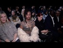 Fishbach, Kelela and more front row for the Paco Rabanne Fashion Show in Paris