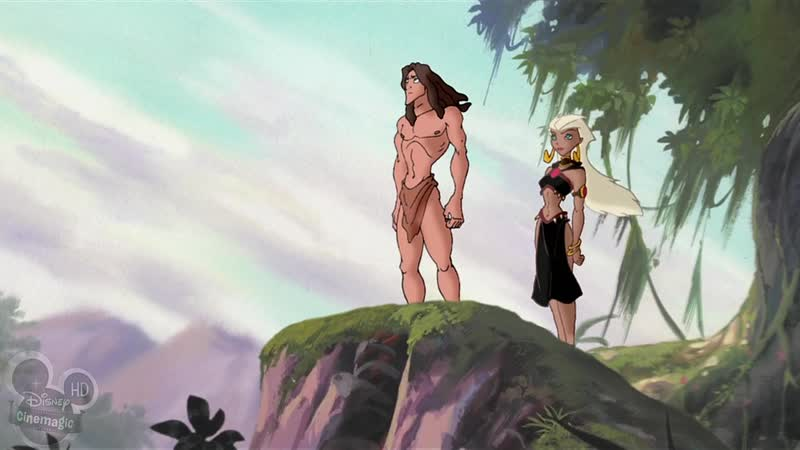 Легенда о Тарзане 4 серия Затерянный город Апар The Legend of Tarzan The Lost City of Opar