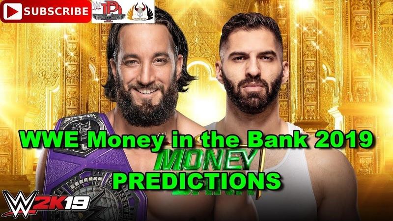 WWE Money in the Bank 2019 Cruiserweight Championship Tony Nese vs Ariya Daivari WWE 2K19
