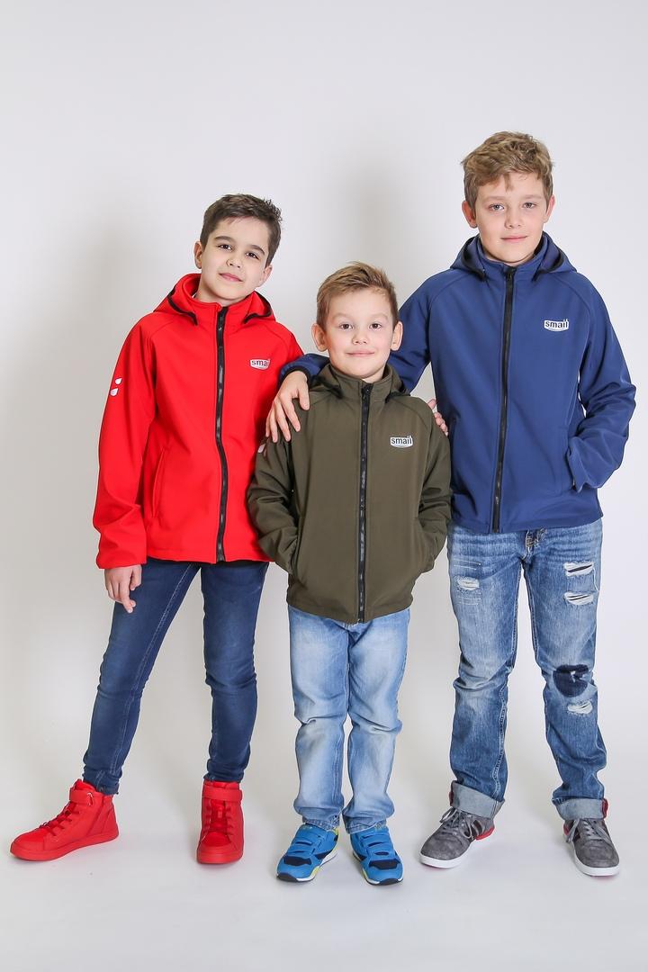 Куртка для мальчика Smail тканьSoftshell