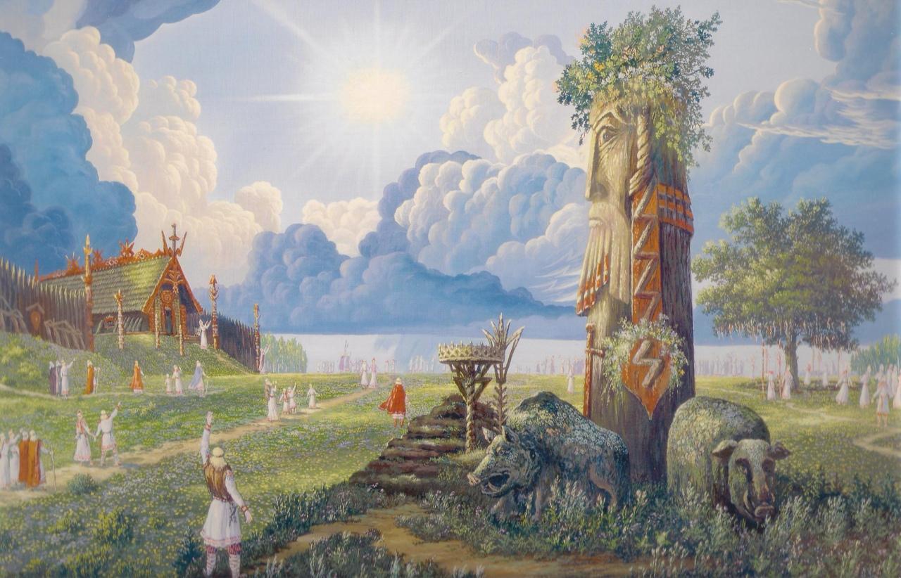 изображение языческих богов фото картинки выхода метро