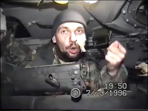 RUSSIAN OFFICERS TALK ABOUT THEIR COMMAND IN CHECHEN WAR