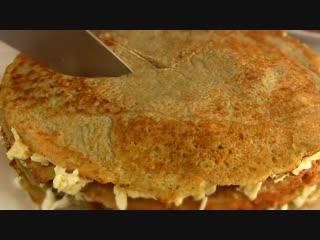 Закусочныи Торт из Дерунов,драников- Простои домашнии рецепт