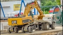 RC trucks, machines and a SPECIAL EXCAVATOR TRANSPORT!