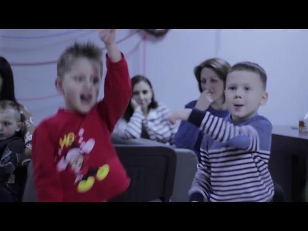 Новогодние приХРЮчения Свинки Пеппы 2018, ресторан Барбекю г. Луганск