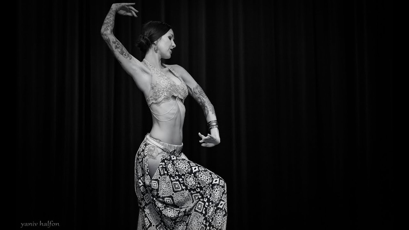 Sara Lynn performs Tribal Fusion Belly Dance in FISSION