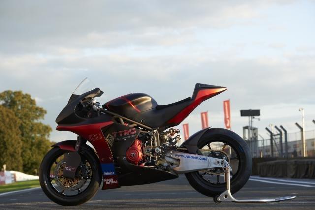 Гоночный мотоцикл ABM Triumph 765 GP2