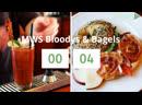 MWS Bloody's Bagels LIVE Coffee Antonio Brown Banjo Bull Buster