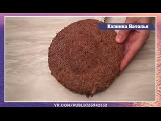 Безумно вкусный торт за 5 минут.  Рецепт - палочка выручалочка. Все домашние будут в восторге!
