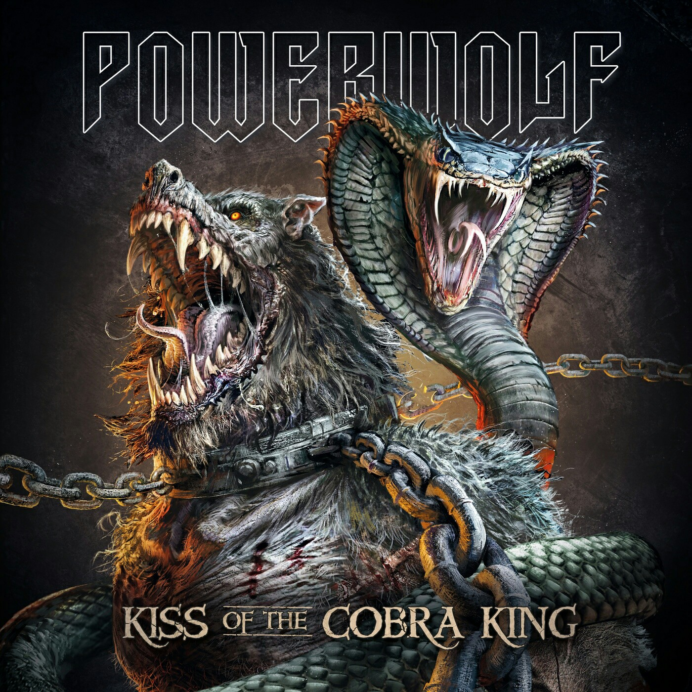 Powerwolf - Kiss of the Cobra King (Single)