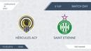 AFL19. Euroleague. Division B. ZAO/CAO. Day 9. Hercules ACF - Saint Etienne.