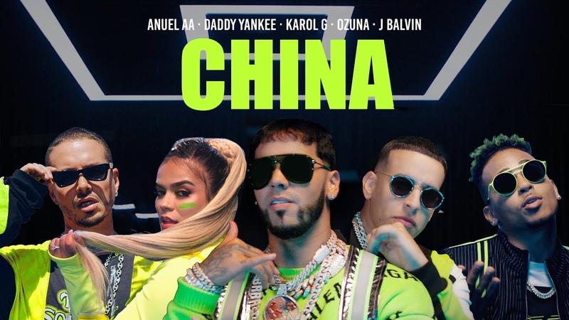 Anuel AA, Daddy Yankee, Karol G, Ozuna J Balvin - China (Video Oficial)
