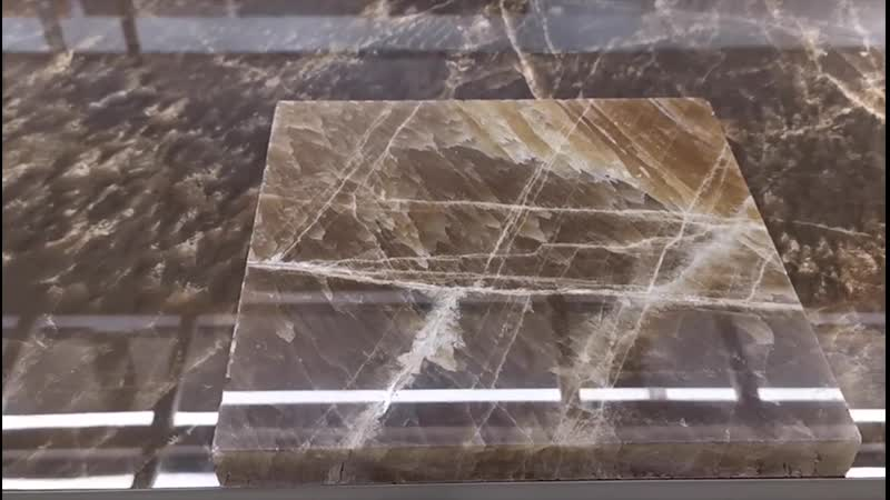 Moreroom glazed tile world prize winning ability deep cooperation with Italian designers.