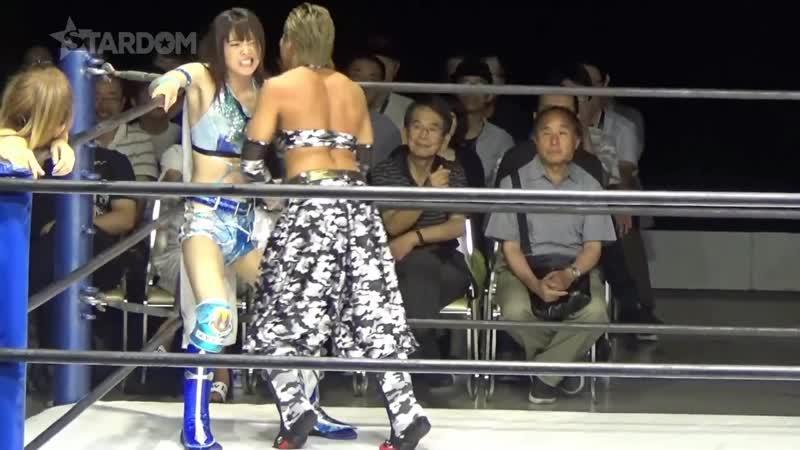 Arisa Hoshiki Mayu Iwatani Saki Kashima vs Oedo Tai Hazuki Kagetsu Natsu Sumire